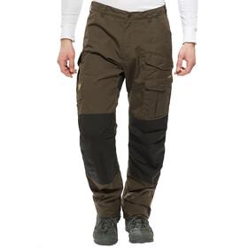 Pantalones Fjällräven Barents Pro Winter dark olive/black hombre